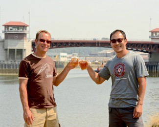 Matt Lincecum, Fremont Brewing Co & Manny Chao, Georgetown Brewery